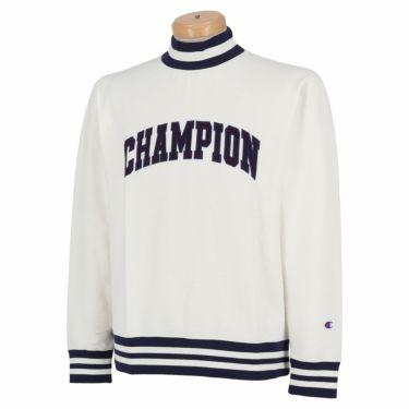 チャンピオンゴルフ Champion GOLF メンズ ストレッチ 長袖 モックネックシャツ C3-SG408 2020年モデル オフホワイト(020)