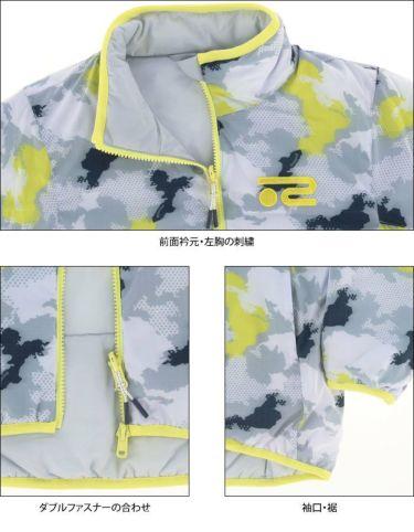 ロサーセン Rosasen レディース 圧縮袋付き リバーシブル 中綿 カモフラージュ柄 長袖 フルジップ ブルゾン 045-53111 2020年モデル 詳細5