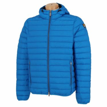 チェッセピューミニ ciesse piumini メンズ フード付き ダウン 長袖 フルジップ ジャケット FRANKLIN-N020C 2020年モデル ブルー(3713PP)