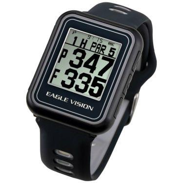 イーグルビジョン watch5 ウォッチ5 腕時計型 GPSゴルフナビ EV-019 BK ブラック