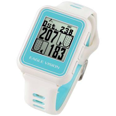 イーグルビジョン watch5 ウォッチ5 腕時計型 GPSゴルフナビ EV-019 WH ホワイト