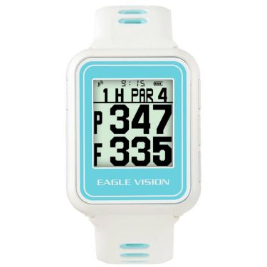 イーグルビジョン watch5 ウォッチ5 腕時計型 GPSゴルフナビ EV-019 WH ホワイト 詳細1