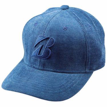 ブリヂストン TOUR B ロゴ刺繍 コーデュロイ メンズ キャップ CPWG04 BL ブルー 2020年モデル ブルー(BL)