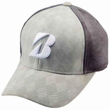 ブリヂストン TOUR B ロゴ刺繍 アーガイル柄 耳当て付き メンズ キャップ CPWG05 SG シルバーグレー 2020年モデル シルバーグレー(SG)