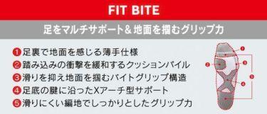 ブリヂストン TOUR B FIT BITE メンズ レギュラーソックス SOG801 BK ブラック 詳細1
