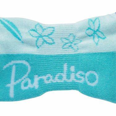 パラディーゾ Paradiso レディース ショートソックス SOA961 SA サックス 詳細1
