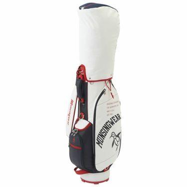 マンシングウェア Munsingwear 軽量 ロゴ刺繍 レディース キャディバッグ MQCRJJ00 WH00 ホワイト 2021年モデル ホワイト(WH00)