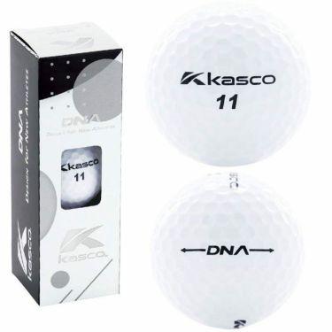 キャスコ DNA ディーエヌエー ゴルフボール 1ダース(12球入り) ホワイト 2021年モデル 詳細1
