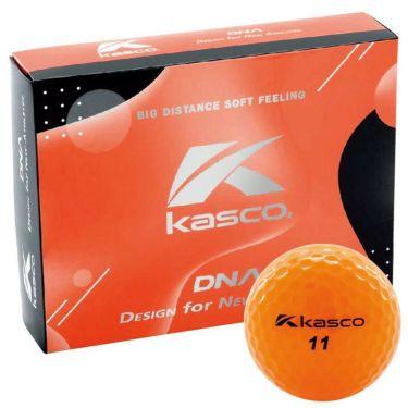 キャスコ DNA ディーエヌエー ゴルフボール 1ダース(12球入り) オレンジ 2021年モデル オレンジ
