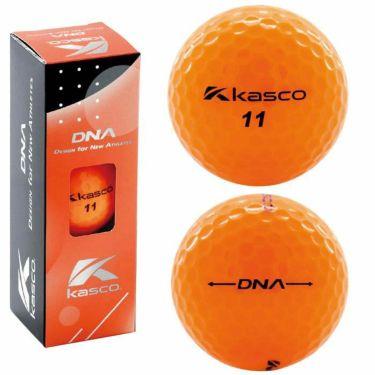 キャスコ DNA ディーエヌエー ゴルフボール 1ダース(12球入り) オレンジ 2021年モデル 詳細1