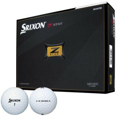 ダンロップ スリクソン Z-STAR 2021年モデル ゴルフボール ホワイト 1ダース(12球入り)  ホワイト