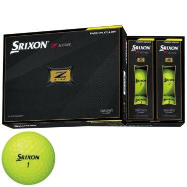 ダンロップ スリクソン Z-STAR 2021年モデル ゴルフボール プレミアムパッションイエロー 1ダース(12球入り) プレミアムパッションイエロー
