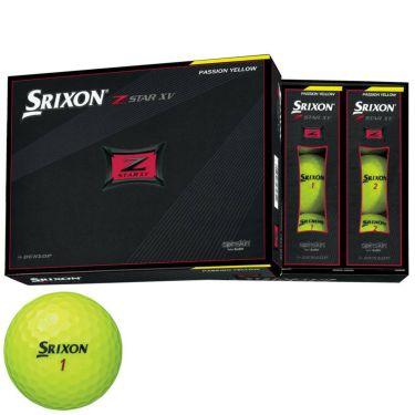 ダンロップ スリクソン Z-STAR XV 2021年モデル ゴルフボール プレミアムパッションイエロー 1ダース(12球入り) プレミアムパッションイエロー