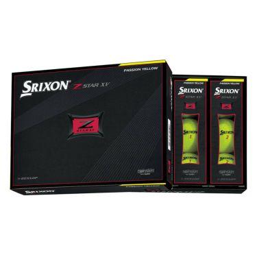 ダンロップ スリクソン Z-STAR XV 2021年モデル ゴルフボール プレミアムパッションイエロー 1ダース(12球入り) 詳細2