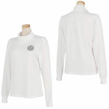 エドウィン EDWIN レディース ロゴプリント ストレッチ 長袖 モックネックシャツ EG19AW6030 2019年モデル 詳細3
