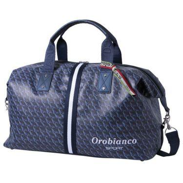 オロビアンコ Orobianco オログラム柄 ボストンバッグ ORB004 NV ネイビー ネイビー