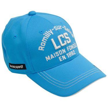 ルコック Le coq sportif ロゴ刺繍 クーリング メンズ キャップ QGBRJC12 BL00 ブルー 2021年モデル 詳細1