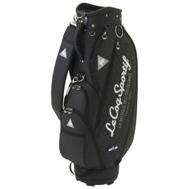 ルコック Le coq sportif 軽量 キルトステッチ レディース キャディバッグ QQCRJJ01 BK00 ブラック 2021年モデル ブラック(BK00)
