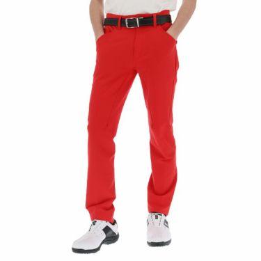 ルコック Le coq sportif メンズ ストレッチ テーパード ロングパンツ QGMNJD04 2019年モデル [裾上げ対応1●] レッド(RD00)