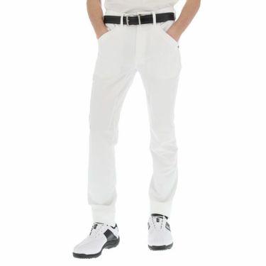 ルコック Le coq sportif メンズ ストレッチ テーパード ロングパンツ QGMNJD04 2019年モデル [裾上げ対応1●] ホワイト(WH00)
