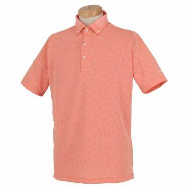 ブリヂストンゴルフ TOUR B メンズ メッシュ ジャガード 半袖 ボタンダウン ポロシャツ 3GN03A 2019年モデル ピンク(PK)