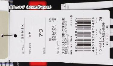 【ss特価】△ブリヂストンゴルフ TOUR B メンズ チェック柄 ストレッチ ロングパンツ 1GNM2K 2019年モデル [裾上げ対応1●] 詳細6
