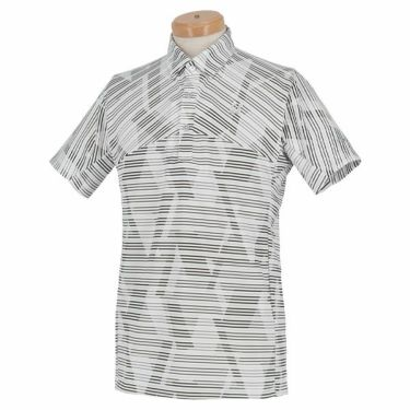 【ss特価】△ブリヂストンゴルフ TOUR B メンズ ボーダー柄 半袖 ポロシャツ RGM07A 2020年モデル ホワイト(WH)