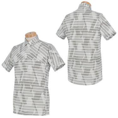 【ss特価】△ブリヂストンゴルフ TOUR B メンズ ボーダー柄 半袖 ポロシャツ RGM07A 2020年モデル 詳細3