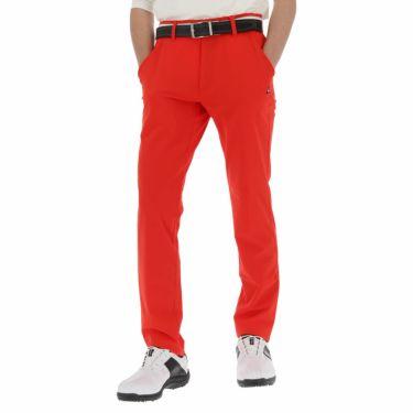 【ss特価】△ルコック メンズ ストレッチ ロングパンツ QGMNJD14 ゴルフウェア [春夏モデル 55%OFF] 特価 [裾上げ対応1●] レッド(RD00)