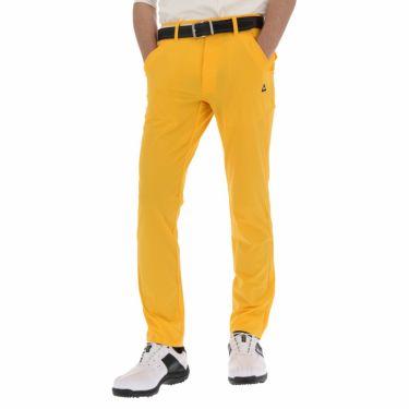 【ss特価】△ルコック メンズ ストレッチ ロングパンツ QGMNJD14 ゴルフウェア [春夏モデル 55%OFF] 特価 [裾上げ対応1●] イエロー(YL00)
