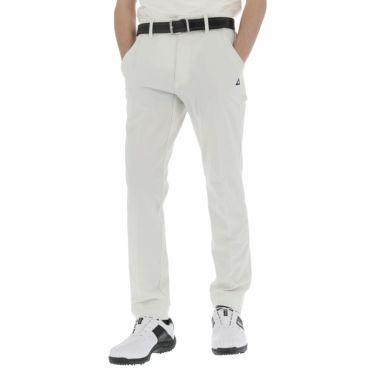 【ss特価】△ルコック メンズ ストレッチ ロングパンツ QGMNJD14 ゴルフウェア [春夏モデル 55%OFF] 特価 [裾上げ対応1●] ホワイト(WH00)