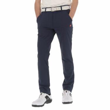 ルコック Le coq sportif メンズ ストレッチ ロングパンツ QGMNJD14 [裾上げ対応1●] ネイビー(NV00)