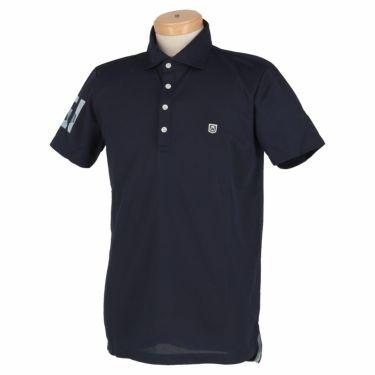 エドウィン EDWIN メンズ 鹿の子 半袖 ホリゾンタルカラー ポロシャツ EG20SS5000 2020年モデル ネイビー(103)