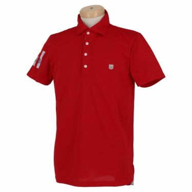 エドウィン EDWIN メンズ 鹿の子 半袖 ホリゾンタルカラー ポロシャツ EG20SS5000 2020年モデル レッド(301)