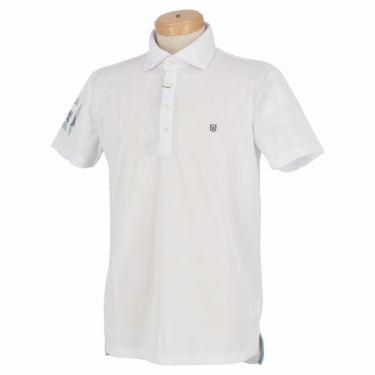 エドウィン EDWIN メンズ 鹿の子 半袖 ホリゾンタルカラー ポロシャツ EG20SS5000 2020年モデル ホワイト(001)