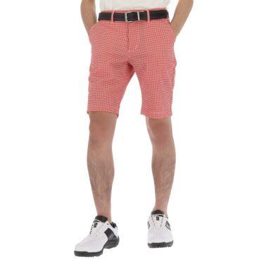 【ss特価】△エドウィン メンズ レギュラー ショートパンツ EG20SS1040 [2020年モデル] ゴルフウェア [春夏モデル 63%OFF] 特価 レッド/ホワイト(758)