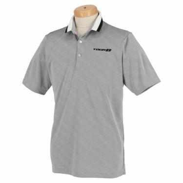 【ss特価】△ブリヂストンゴルフ TOUR B メンズ ロゴ刺繍 クールコア 半袖 ポロシャツ 3GN05A ゴルフウェア [春夏モデル 66%OFF] 特価 ブラック(BK)