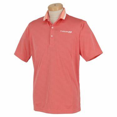 【ss特価】△ブリヂストンゴルフ TOUR B メンズ ロゴ刺繍 クールコア 半袖 ポロシャツ 3GN05A ゴルフウェア [春夏モデル 66%OFF] 特価 レッド(RD)