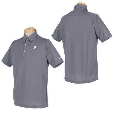 【ss特価】△ブリヂストンゴルフ TOUR B メンズ バーズアイ柄 半袖 ボタンダウン ポロシャツ 3GR07A [2020年モデル] ゴルフウェア [春夏モデル 50%OFF] 特価 詳細3