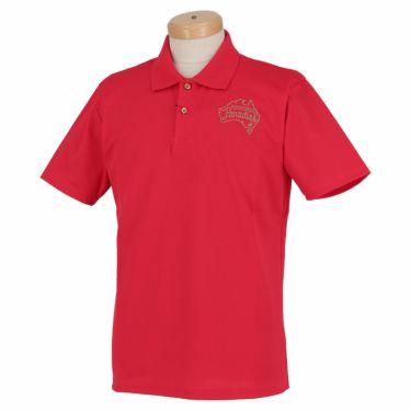 【ss特価】△パラディーゾ メンズ ロゴ刺繍 鹿の子 半袖 ポロシャツ RSM31A [2020年モデル] ゴルフウェア [春夏モデル 50%OFF] 特価 ピンク(PK)