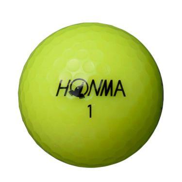 本間ゴルフ D1 SPEEDMONSTER スピードモンスター 2021年モデル ゴルフボール イエロー 1ダース(12球入り) 詳細1