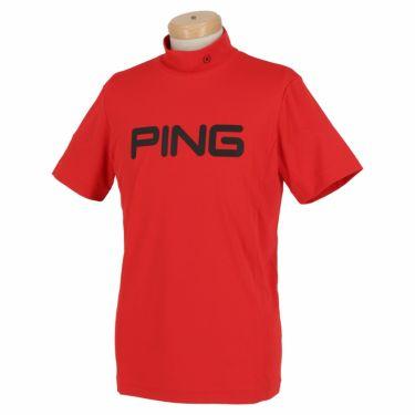 ピン PING メンズ ロゴプリント 半袖 モックネックシャツ 621-0268002 2020年モデル 詳細3