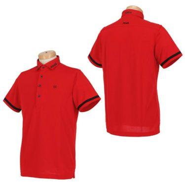 ピン PING メンズ ロゴプリント 生地切替 袖ライン 半袖 ポロシャツ 621-0160005 2020年モデル 詳細3