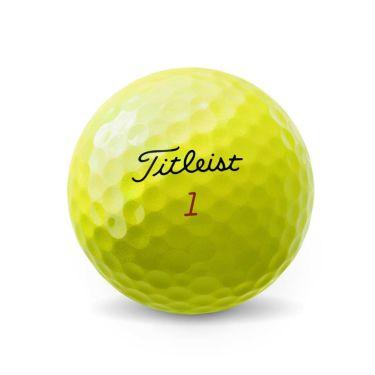オウンネーム専用 タイトリスト プロV1x 2021年モデル ゴルフボール イエロー 1ダース(12球入り) 詳細1