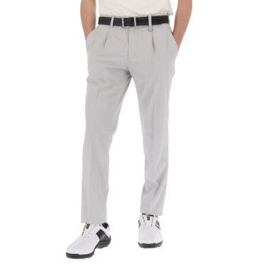 【ss特価】△ブラック&ホワイト メンズ ドビー素材 ストレッチ ロングパンツ BGS5100ED [2020年モデル] ゴルフウェア [春夏モデル 50%OFF] 特価 グレー(23)