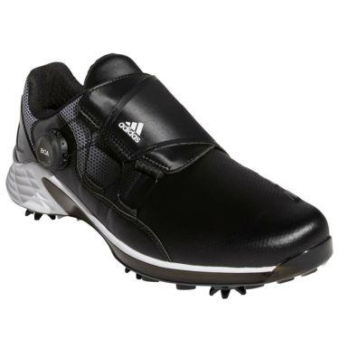 アディダス adidas ZG21 BOA ゼッドジー21 ボア メンズ ソフトスパイク ゴルフシューズ FW5556 2021年モデル ブラック/ホワイト/グレー