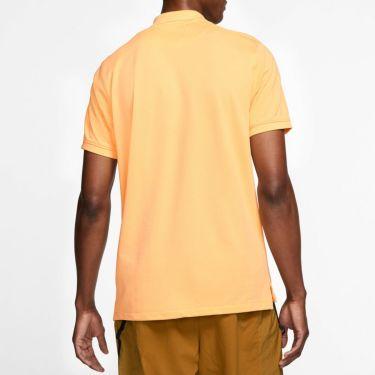 ナイキ NIKE 飛び柄刺繍 メンズ 半袖 ポロシャツ CI9772 251 セレスティアルゴールド 詳細2