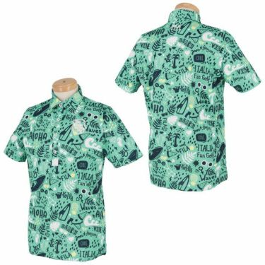 フィラ FILA メンズ アロハ柄 半袖 ポロシャツ 740-617 2020年モデル 詳細3