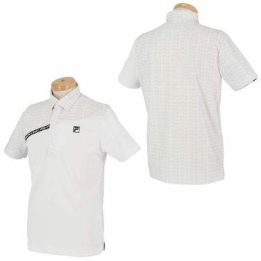 フィラ FILA メンズ カラーブロック 生地切替 半袖 ポロシャツ 740-622 2020年モデル 詳細3