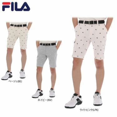 フィラ FILA メンズ 飛び柄刺繍 コードレーン ショートパンツ 740-310 2020年モデル 詳細1